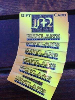 Moylan's Gift Cards