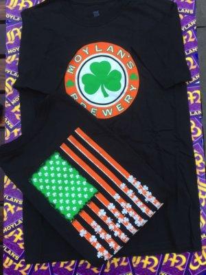 Black Shamrock T-Shirt