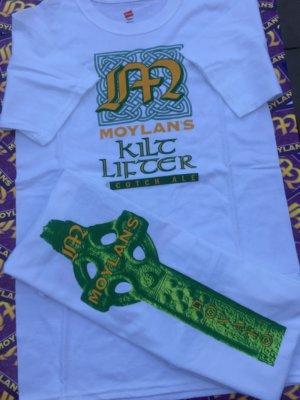White Kilt Lifter T-Shirt