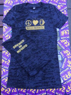 Ladies Peace, Love & Beer Shirt
